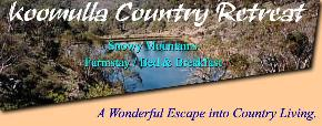 Koomulla Country Retreat - Whitsundays Tourism