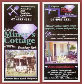 Miner's Cottage - Whitsundays Tourism