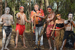 Didgeridoo Jam in the Park - Whitsundays Tourism