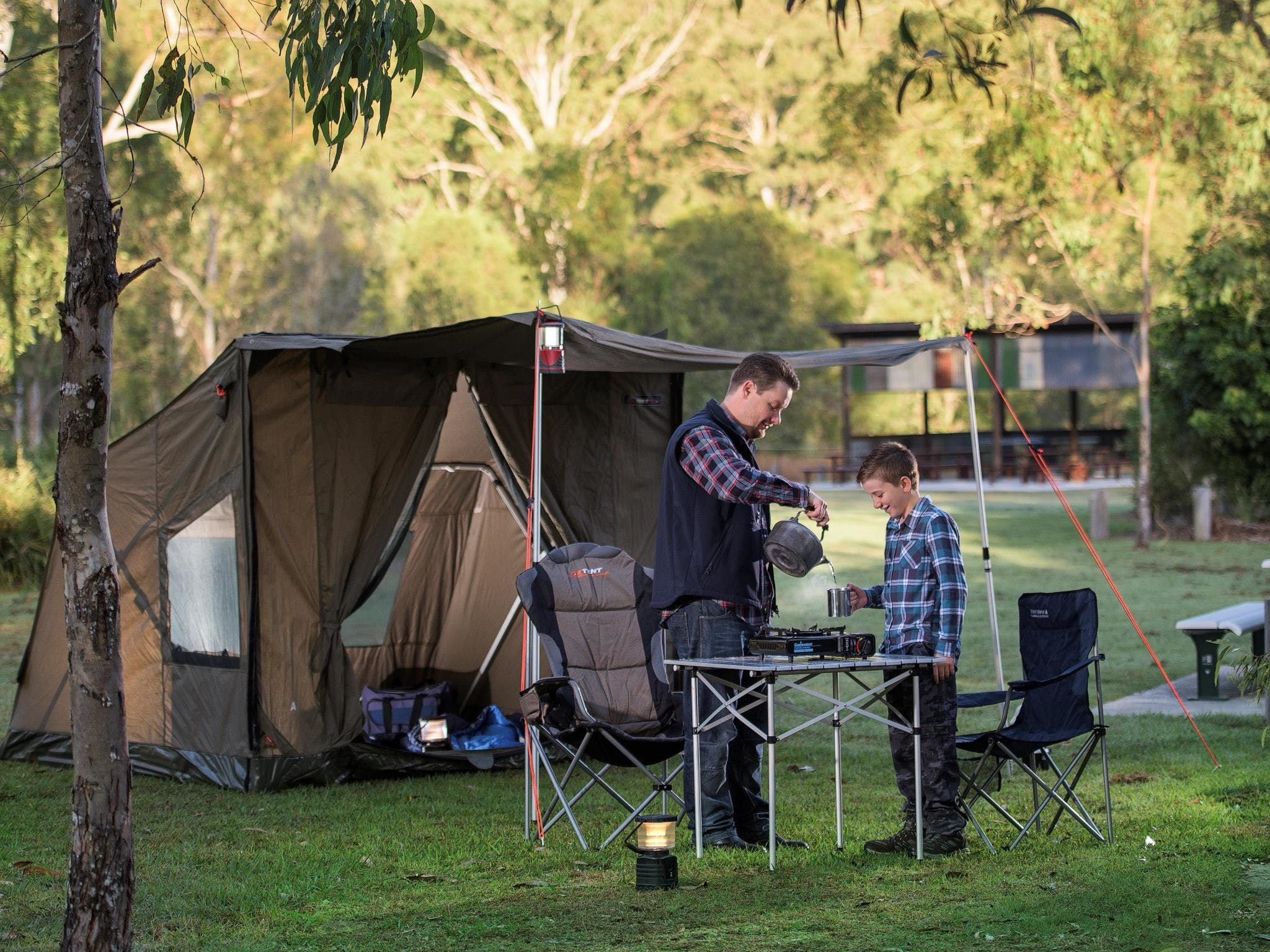 Hardings Paddock Campground - Whitsundays Tourism