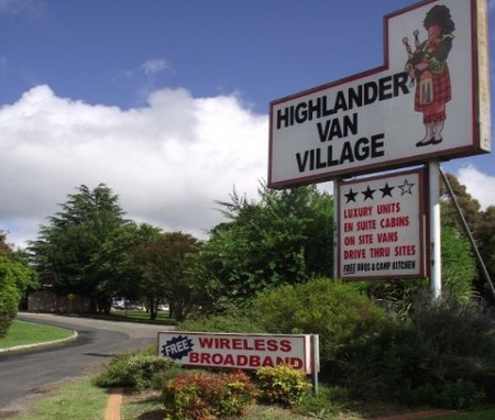 Highlander Van Village