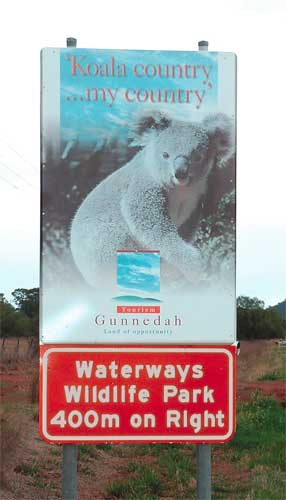 Waterways Wildlife Park - Whitsundays Tourism