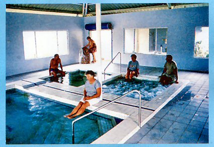 Innot Hot Springs Leisure  Health Park - Whitsundays Tourism