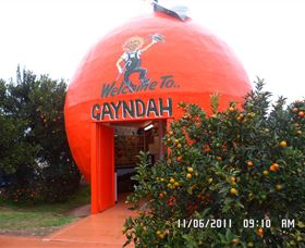 Gayndahs Big Orange - Whitsundays Tourism