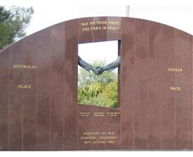 Cowra Italy Friendship Monument - Whitsundays Tourism