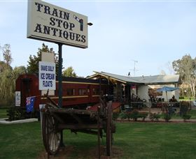 Train Stop Antiques - Whitsundays Tourism