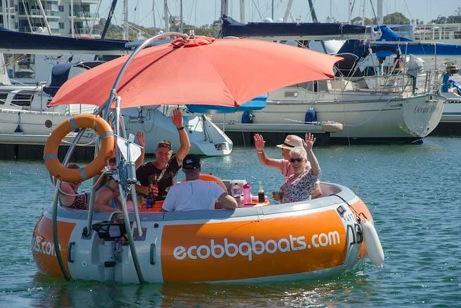 Self-Drive BBQ Boat Hire Mandurah - Group of  -  people