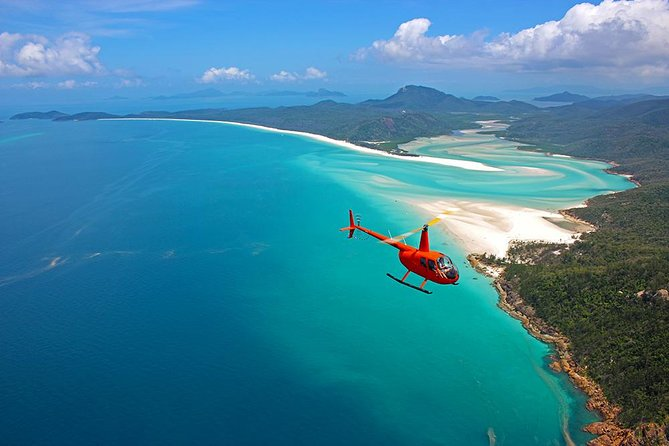 Whitehaven Heli Tour - Whitsundays Tourism
