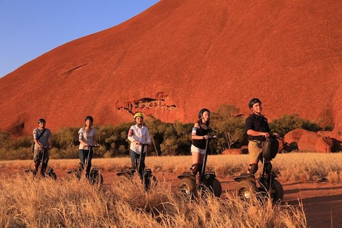 Quarter Uluru Segway  Sunset - Whitsundays Tourism