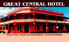 Great Central Hotel - Whitsundays Tourism