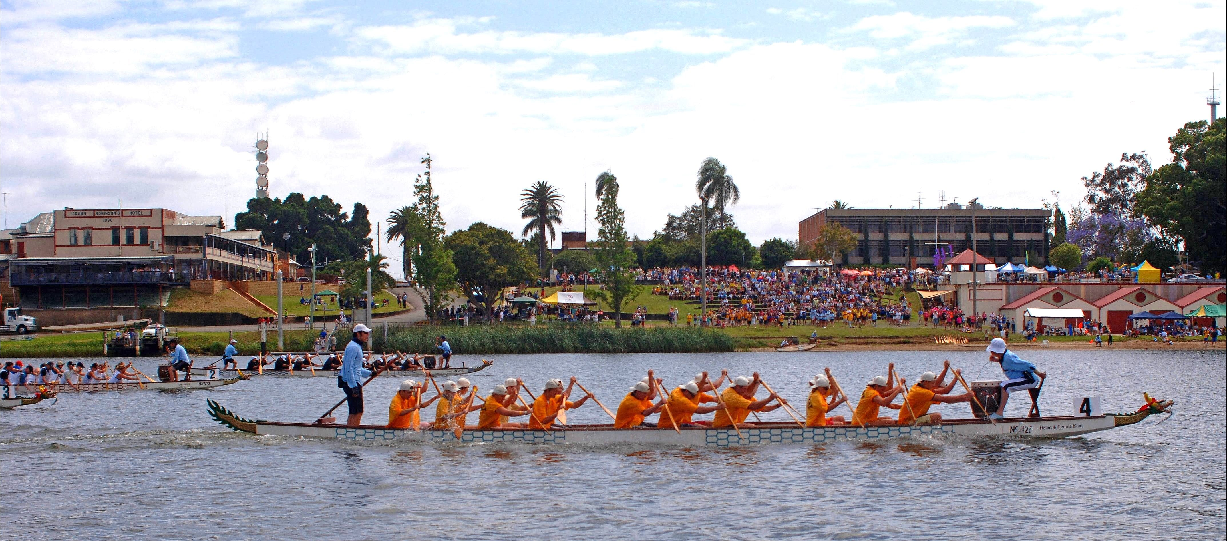 Jacaranda Dragon Boat Races - Whitsundays Tourism