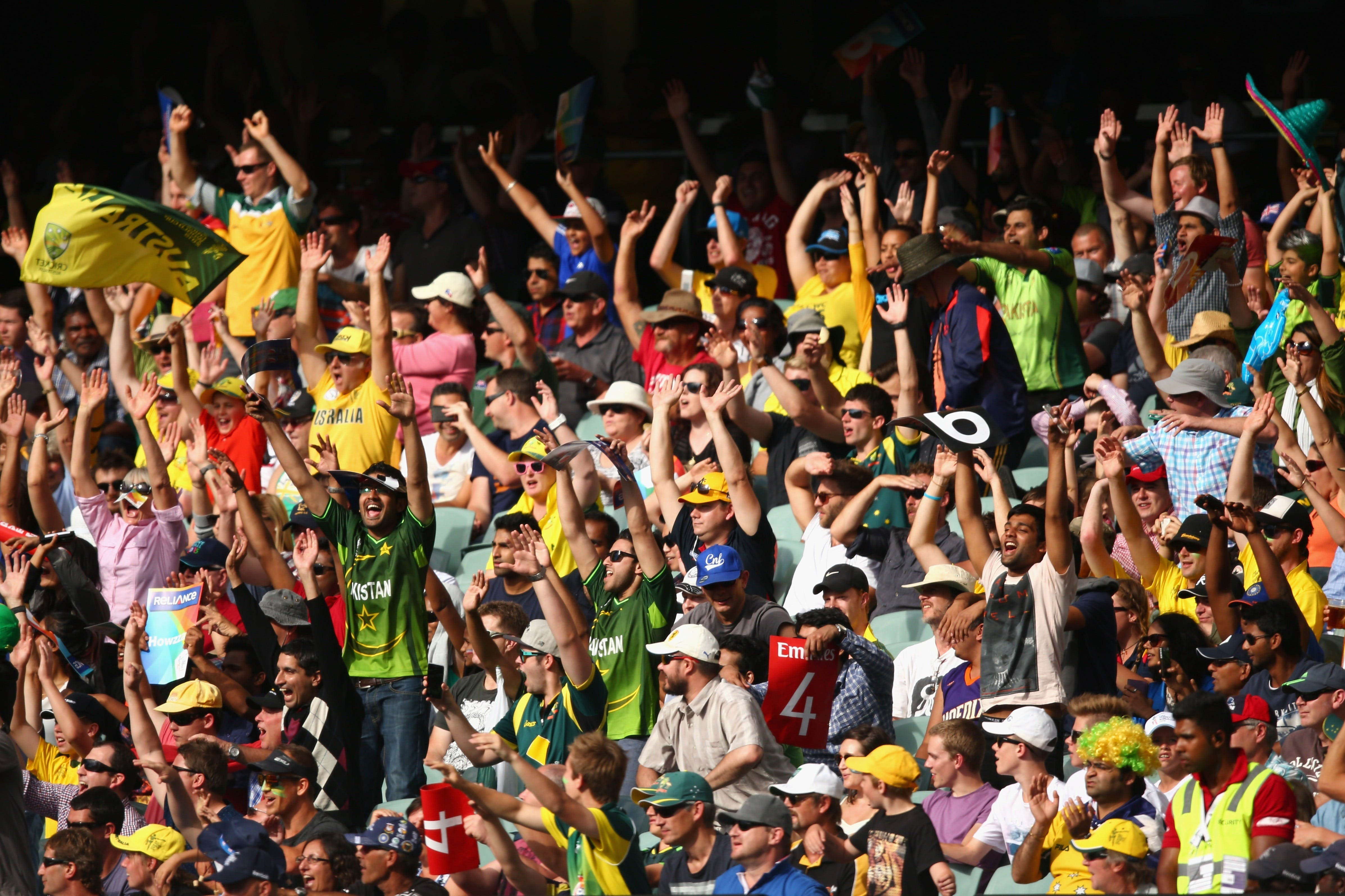 T20 World Cup Men's Double Header Pakistan versus New Zealand and Australia v A1 - Whitsundays Tourism