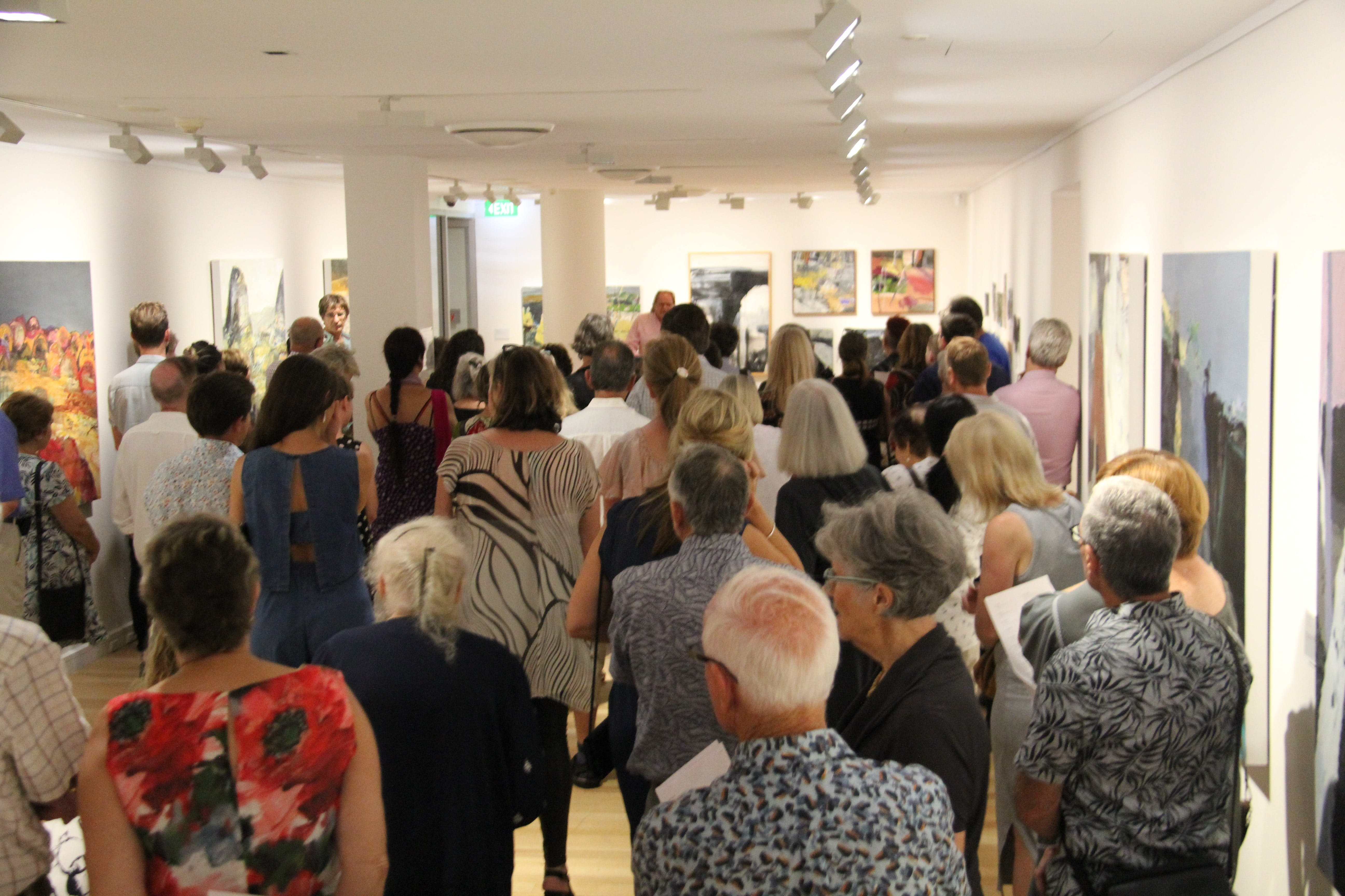 'Presence of Place Catherine Parker' Exhibition Opening - Whitsundays Tourism