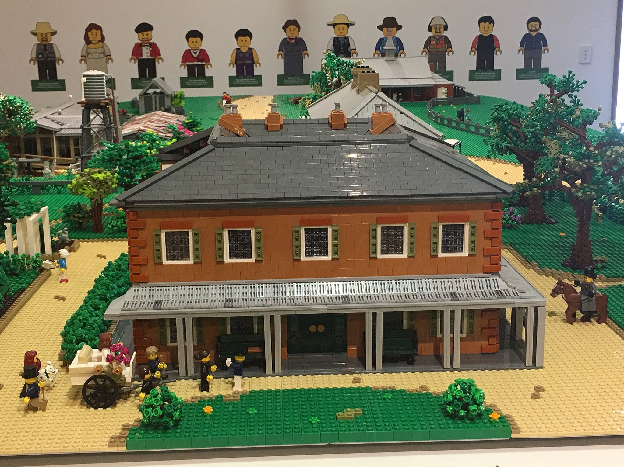 Rouse Hill House and Farm in Lego Bricks - Whitsundays Tourism