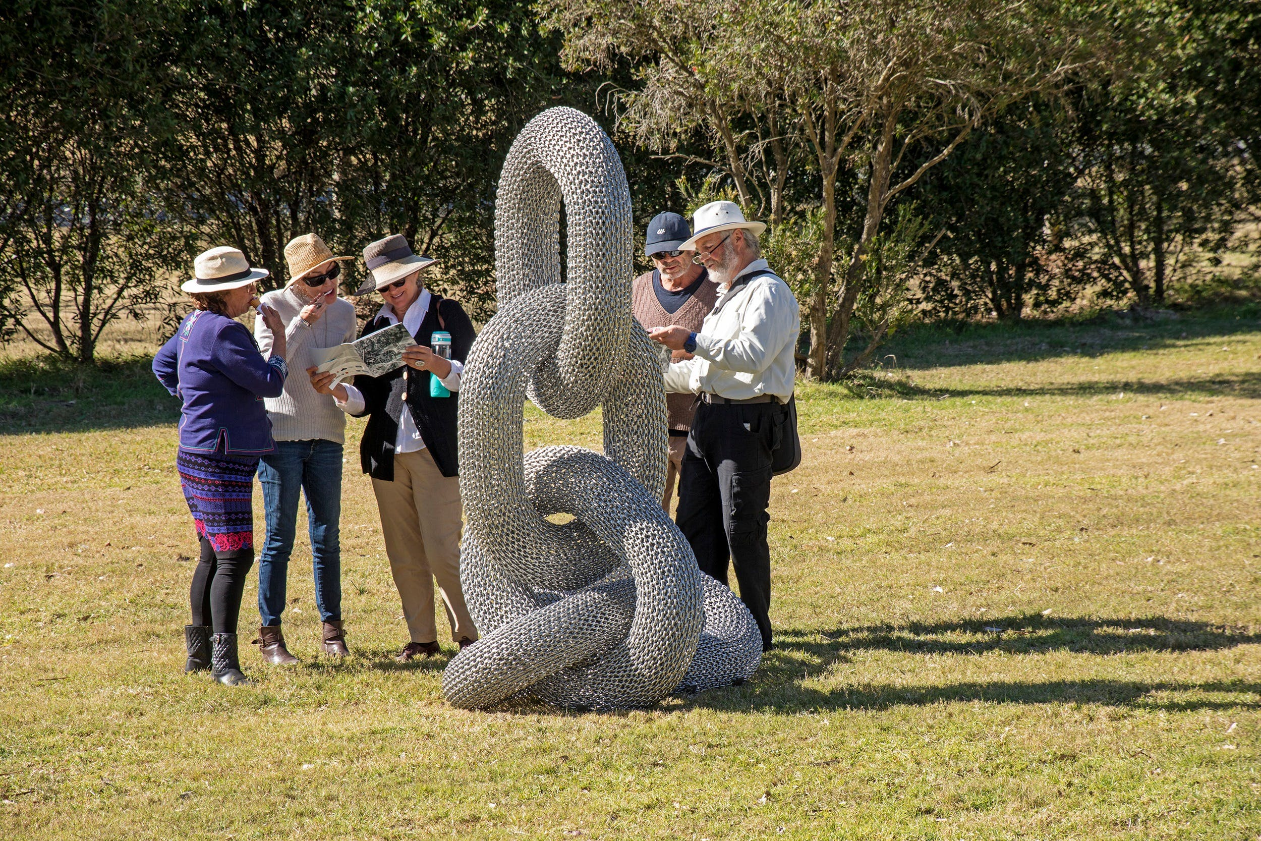 Sculpture for Clyde - Outdoor Exhibition - Whitsundays Tourism