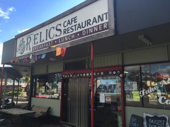 Relics Cafe  Restaurant - Whitsundays Tourism